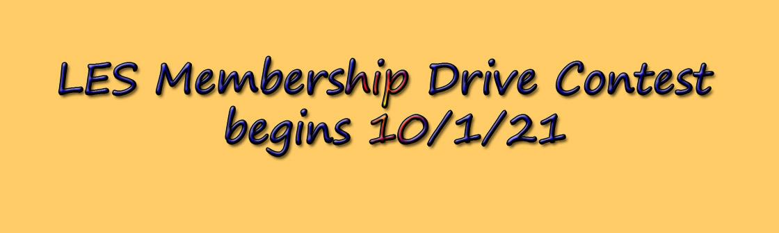 Membership Drive Banner